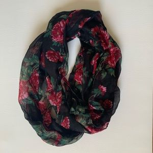 Accessories - Rose Infinity Scarf